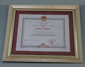 "Merit of the Prime Minister of the Socialist Republic of Vietnam for : ""Achievement in the work since 2008 to 2010, contributing to the stage of building socialism and defend nation"""
